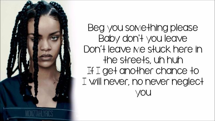 Rihanna - Work ft. Drake (lyrics)