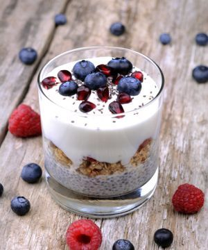 DIY Chia Seed Pudding —Plus 8 Flavor Options!  *sidenote- I have tried this & now feel like my fridge is empty if I don't have some in it. **grin** My fav is a basic vanilla, then the peanut butter. I just made some of the chai, can't wait to try it in the morning!