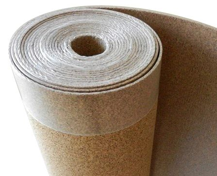 Cork Underlayment - Cork with Vapor Barrier 6mm