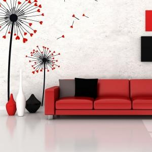 A color colors and leon on pinterest for Decoracion de paredes de sala