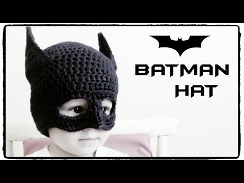 Batman Hat Crochet - ALL SIZES, My Crafts and DIY Projects
