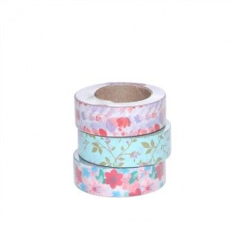 Washi Masking Tape (florals)    So gorgeous!