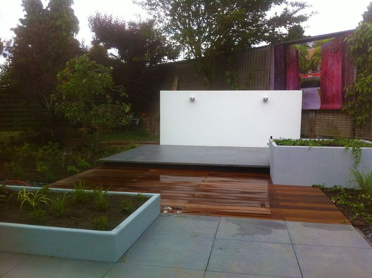 79 best images about platoflex projects on pinterest plant containers france and curved bench - Bassin tuin ontwerp ...