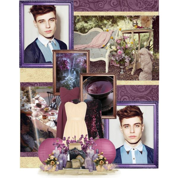 Tim Borrmann as Mad Hatter  #disney  Credits: @justadreamer Original cast: http://www.polyvore.com/were_all_mad_here/set?id=98694323&lid=2670378