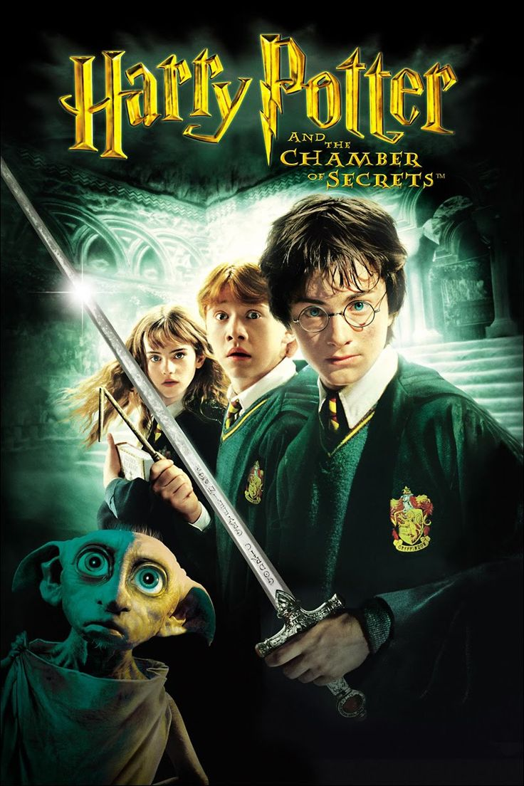 harry potter movie posters | Harry Potter and the Chamber of Secrets (Official Movie Poster) | The ...
