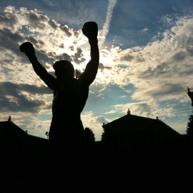 Rocky Balboa, Philadelphia, Pennsylvania.  Photo copyright: Gretchen Page.