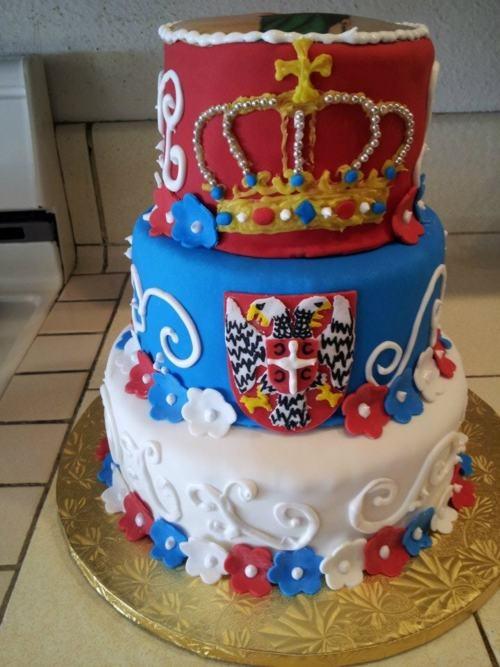 A SERBIAN CAKE so freaking sick!