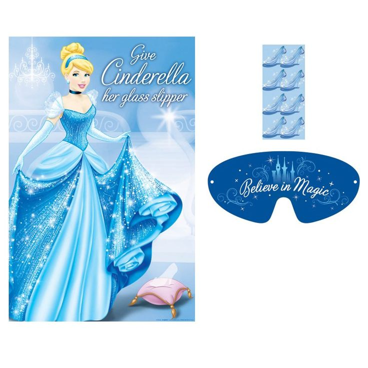 Disney Cinderella Party Game:Cinderella Party Games for Toddlers