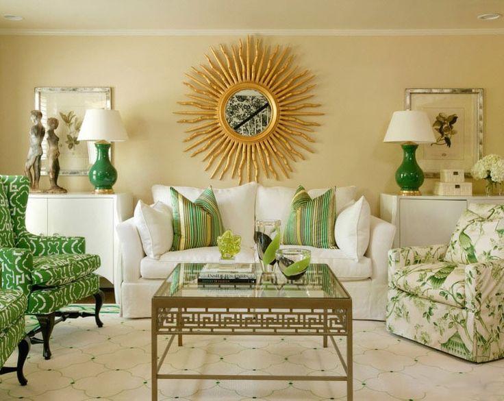 Интерьер в зеленых тонах - Ярмарка Мастеров - ручная работа, handmade