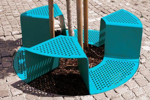 """Actualité / """"Sinus"""", un concept d'assises urbaines modulables / étapes: design & culture visuelle"""