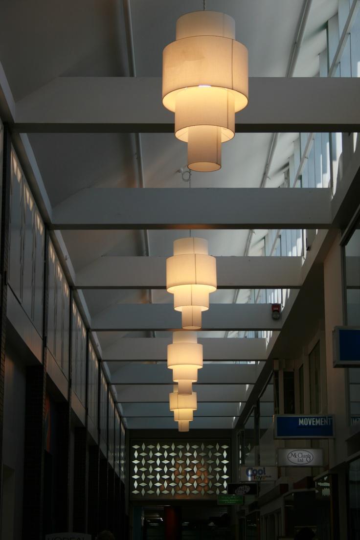 Art Deco corridor lighting Napier NZ