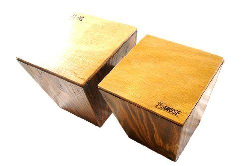 AMUSE Cajon Cabongo 木 製 ボンゴ 木の 楽器 カボンゴABO4-Z2 (ゼブラ(Dakon type2)) AMUSE, http://www.amazon.co.jp/dp/B00JUGJ8NU/ref=cm_sw_r_pi_dp_QzUBtb0PW857N