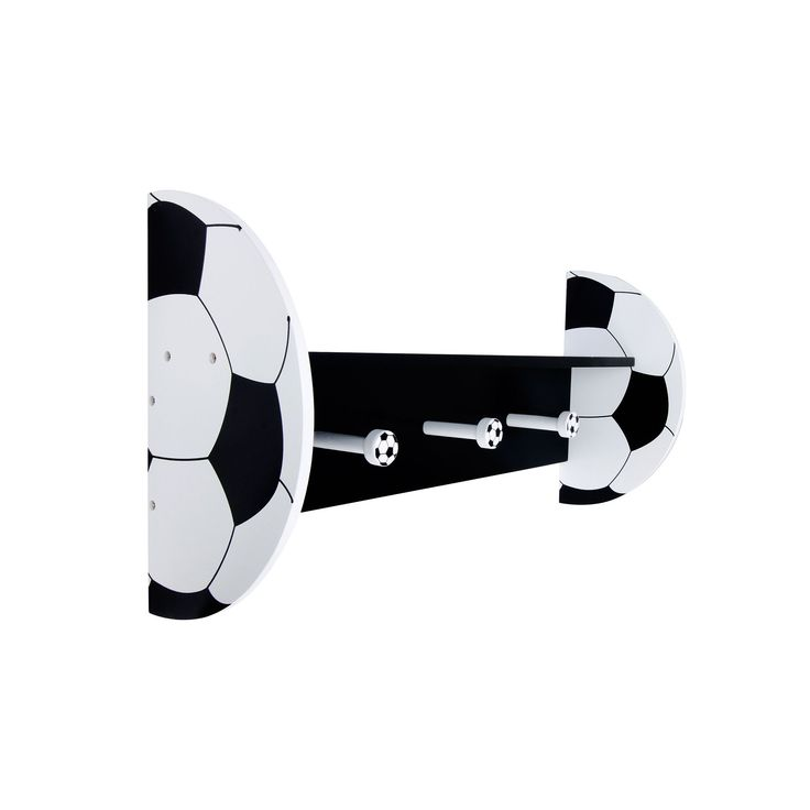 Trend Lab Soccer Shelf, Black