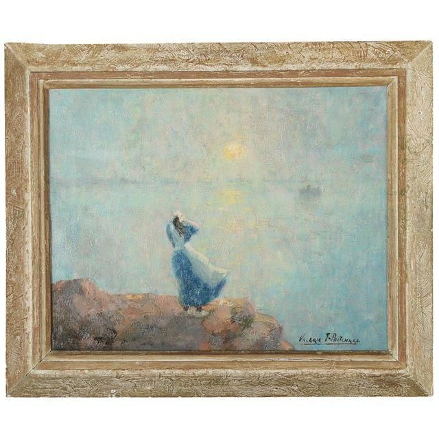 Image of Looking the Horizon Impressionist Painting