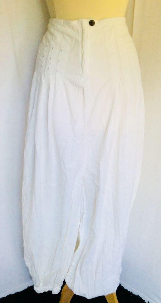 Pantalon Ethnique T L COLINE Bouffant Sarouel Aladin Babacool Blanc    Vetement   Pinterest   Boho pants, Harems and Boho 271620ce9565