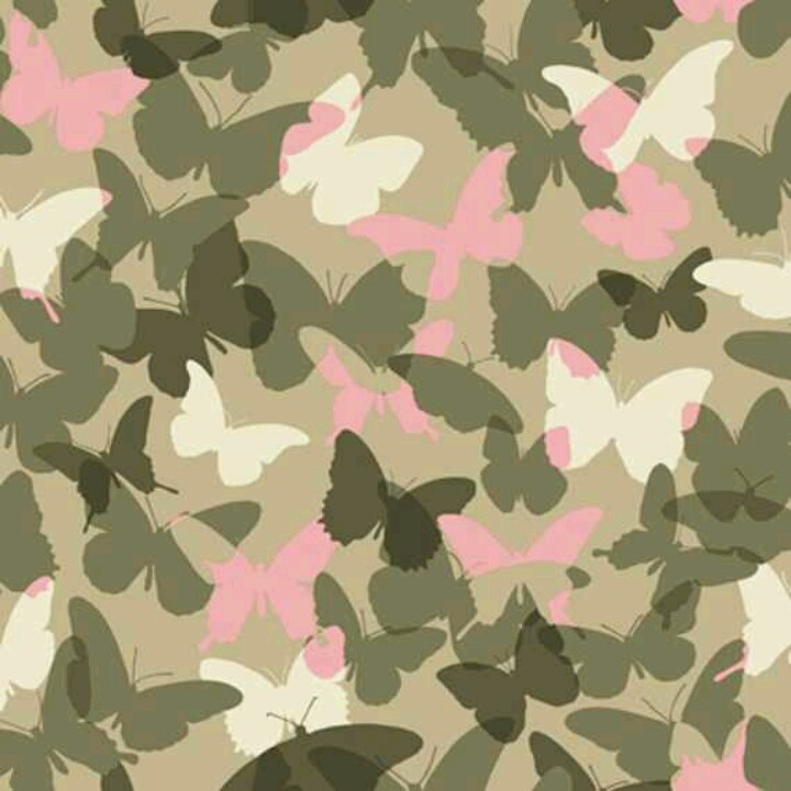 Pink butterfly camo - it's Girly!!! | Girly Camo