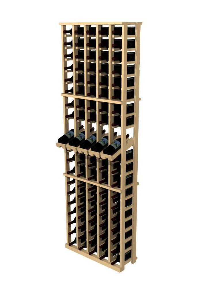 nice Wine Cellar Innovations Rustic Pine 100 Bottle Wall Mounted Wine Rack Check more at https://aeoffers.com/product/wine/wine-cellar-innovations-rustic-pine-100-bottle-wall-mounted-wine-rack/