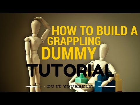 Learn How to Build a Grappling Dummy in just 5 Minutes - YouTube