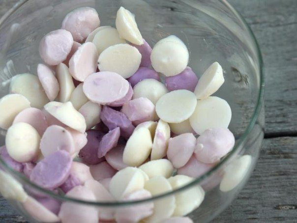 Капли из ягод и йогурта