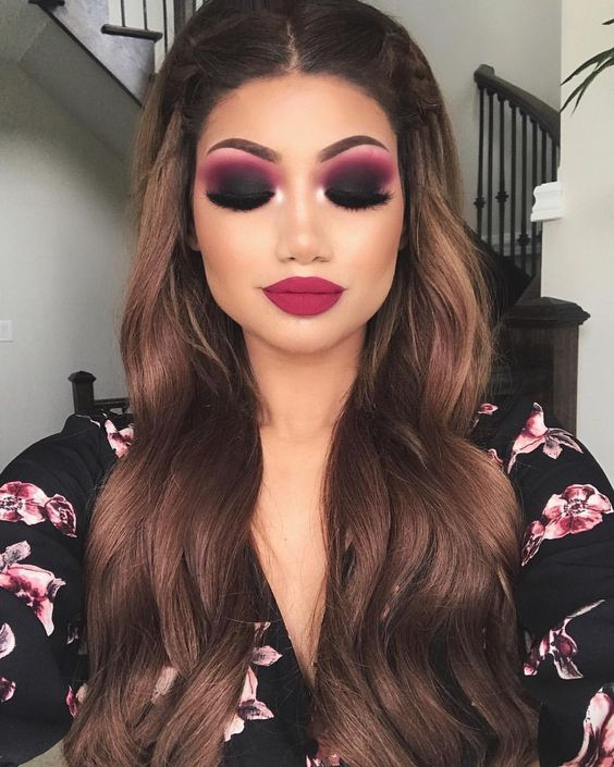 Amazing makeup look by ALINA (Alina Gea) Eyes: Anastasia Beverly Hills modern renaissance palette. Afflink.
