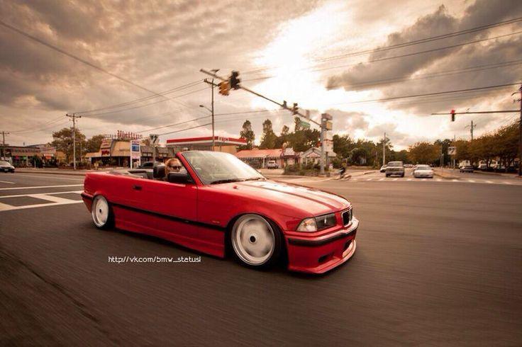 bmw e36 3 series cabrio red slammed cars pinterest bmw e36 slammed and chang 39 e 3. Black Bedroom Furniture Sets. Home Design Ideas