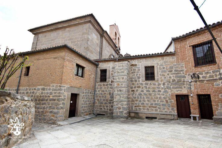 Fundación San José de Ávila - Fachada de las casas primitivas