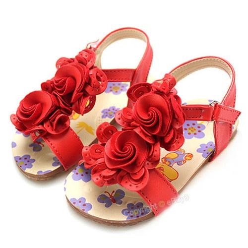 Infant Sandals: Baby Girl Sandals Size 4