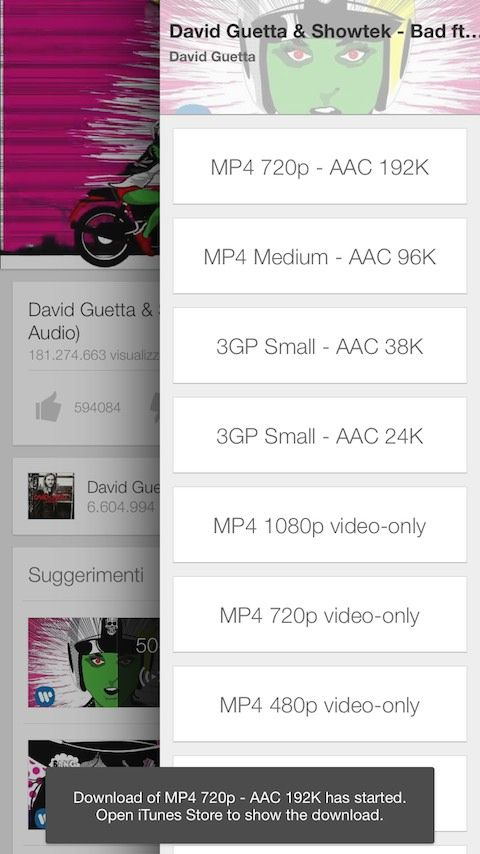 Descarca clipuri video YouTube pe iPhone si iPad folosind Intube 2 (iOS 8)