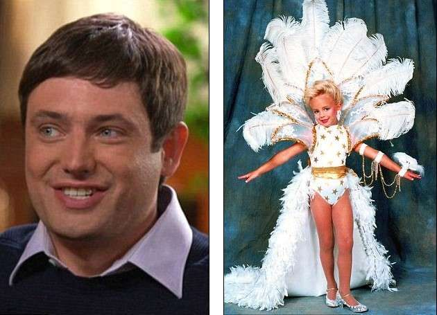 Burke Ramsey with his little sister JonBenet Ramsey picture,filed a $750million lawsuit