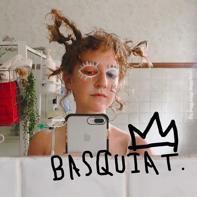 Jean-Michel Basquiat  Behind the scenes Hair&makeup by me Model @grape_guava  #jeanmichelbasquait #basquiat #バスキア  #hair #hairandmakeup #hairarrange #makeup #melbournehairdresser #melbournemakeupartist #japanesemakeupartist