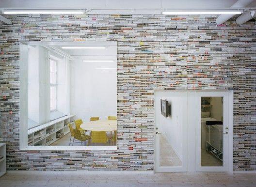 mag-nificent magazine wall  oktavilla fitout by elding oscarson