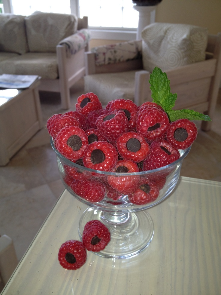 Quick and Healthy Treat … Chocolate Berry Bites! http://www.lookcut.com/veep/visual-eating-and-exercise-plan.html