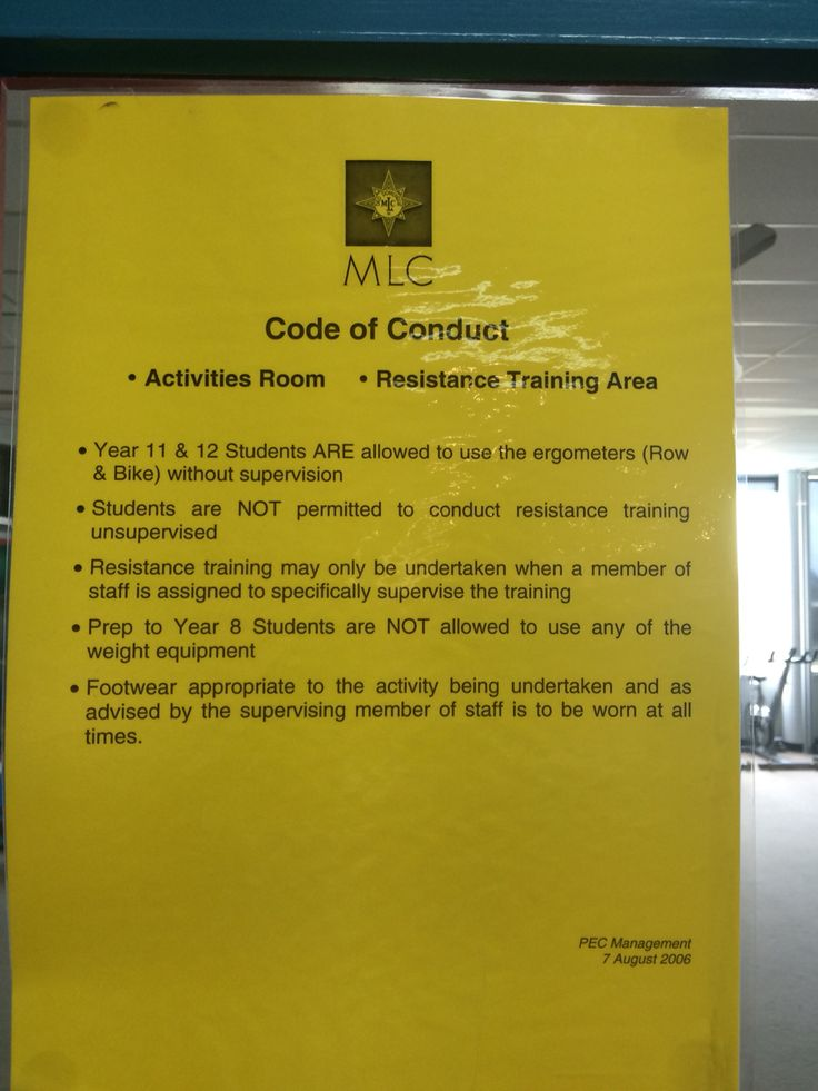 Policy Level: Code of conduct