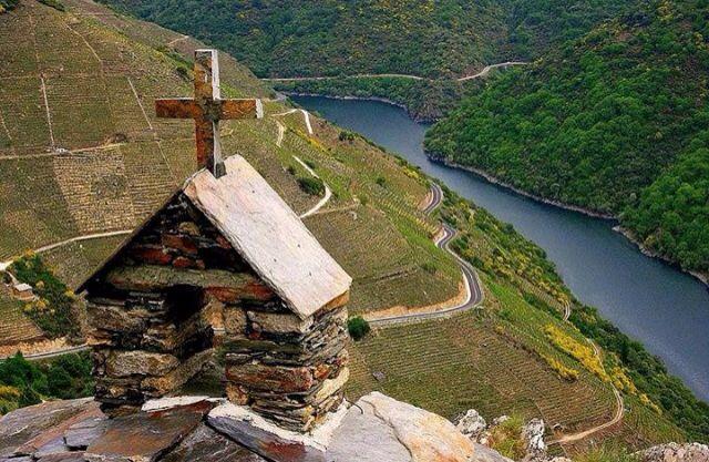 Rio Sil. Ribeira Sacra. Galicia. Spain