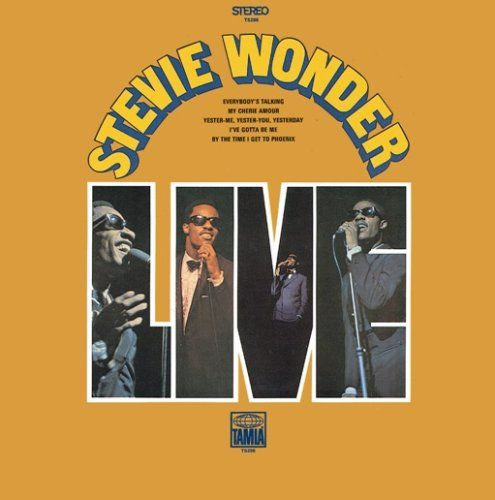 Stevie Wonder Albums | Stevie Wonder Live Album Cover