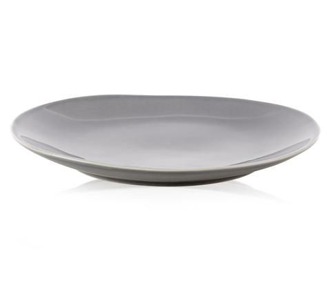 Kelly Hoppen London Grey Dinner Plate: Designed by international interior design guru Kelly Hoppen, the Zen Collection dinner plates are crafted from hard-wearing stoneware and hand finished in three neutral, signature Kelly shades. Keep things simple with one colour or mix it up across the collection. Available in grey, white and taupe.