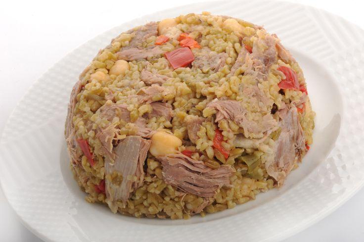 Akdeniz Hatay Sofrası-Turkish Food-Firik Rice