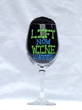 A personal favorite from my Etsy shop https://www.etsy.com/listing/248585388/weight-lifting-wine-glass-lifting-theme
