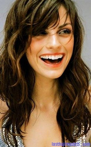 Swell 1000 Ideas About Bangs Curly Hair On Pinterest Naturally Curly Hairstyle Inspiration Daily Dogsangcom