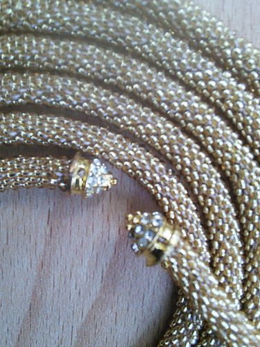 Ravelry: Metelitsa's Golden Bead Rope