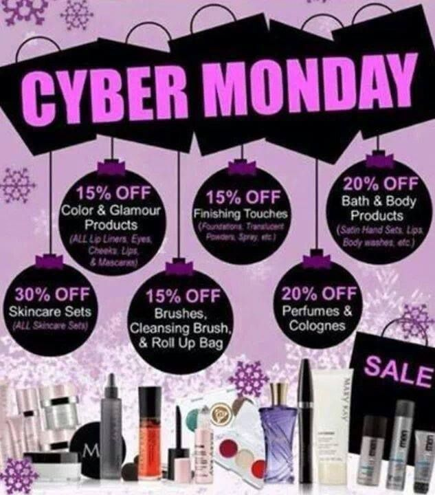 Shop my Cyber Monday Sale! Monday, November 30th, 2015 Jennifer Emanuel Mary Kay Sales Director www.marykay.com/jennemanuel www.facebook.com/jenniferemanuelmk Call/Text: 214-405-2512 Email: jennemanuel@sbcglobal.net