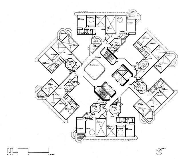 Concourse - Scheme 1 Apartment Level Typical Plan | Flickr - Photo Sharing!