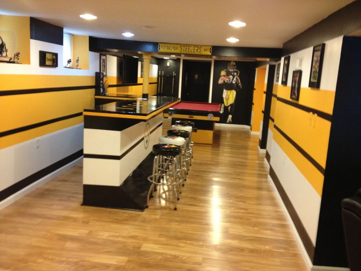 Steelers Man Cave Furniture : Our steelers man cave