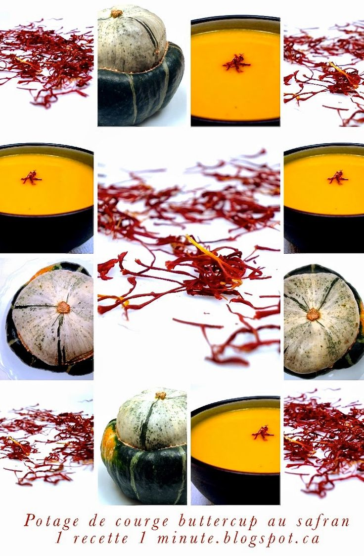 Santé, Végétalien, Végétarien: le Potage de Courge Butternut au Safran