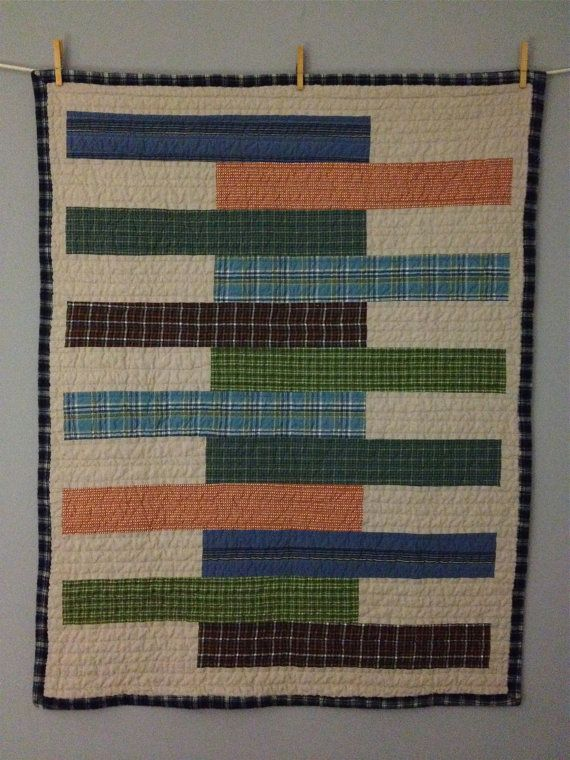 Plaid Baby Quilt: 94 Best Images About Quilts For Guys On Pinterest