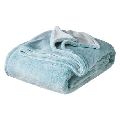 my #1 most-used and loved purchase - my turquoise Xhilaration® Blanket