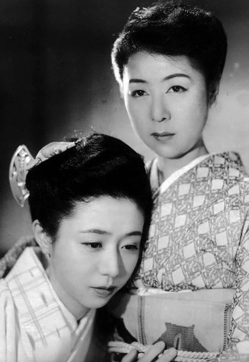 The Kimono Gallery 田中絹代 (Kinuyo Tanaka) 乙羽信子 (Nobuko Otowa )