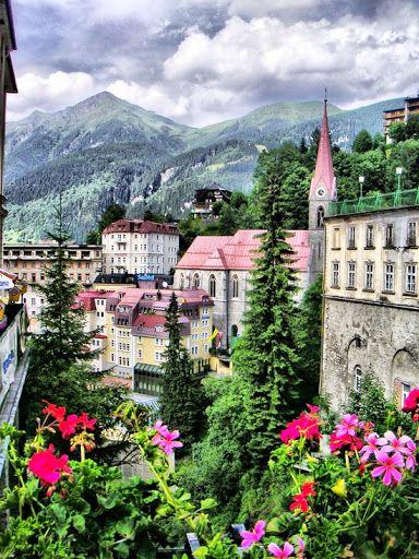 Bad Gastein, Austria -- lovely mountain town