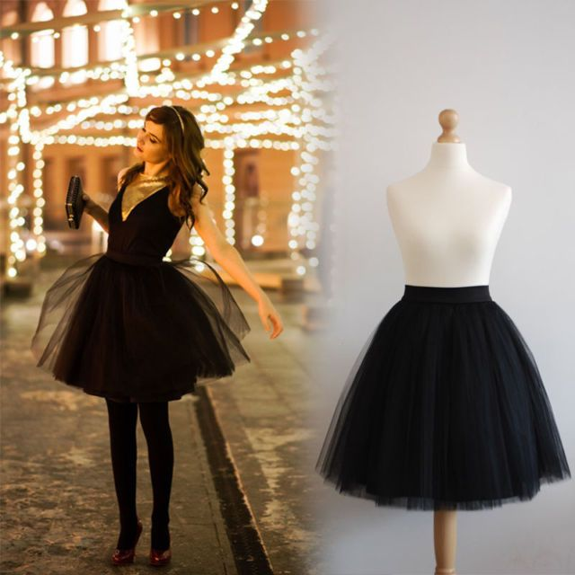 Black tulle skirt                                                                                                                                                                                 More