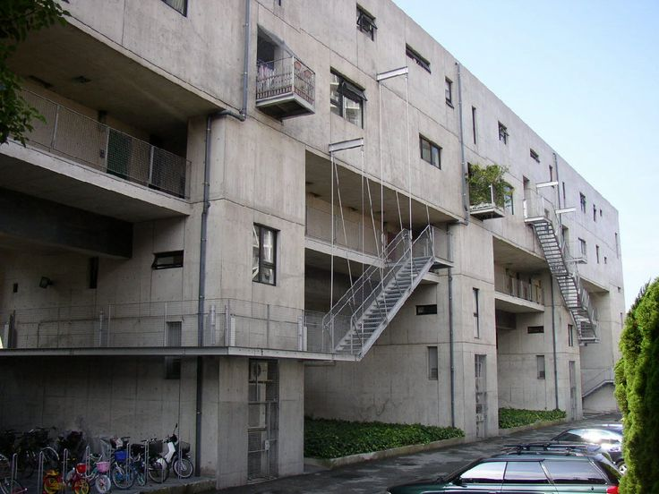 Steven Holl   Apartamentos Nexus World   Fukuoka, Japón   1989-1991   Knowlton School Digital Library